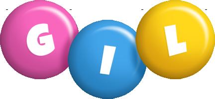 Gil candy logo