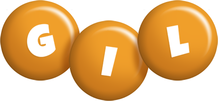 Gil candy-orange logo