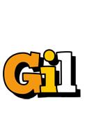 Gil cartoon logo