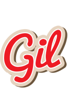 Gil chocolate logo