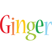 Ginger birthday logo