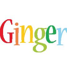 Ginger birthday logo