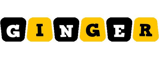 Ginger boots logo