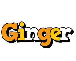 Ginger cartoon logo