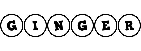 Ginger handy logo