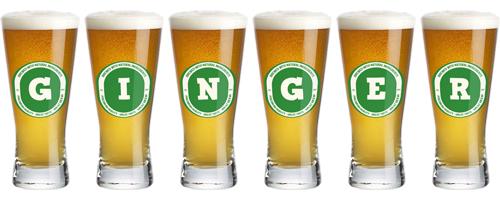 Ginger lager logo