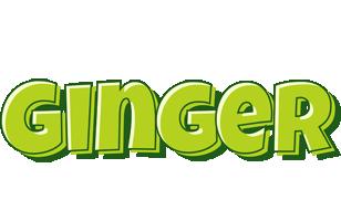 Ginger summer logo