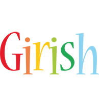 Girish birthday logo