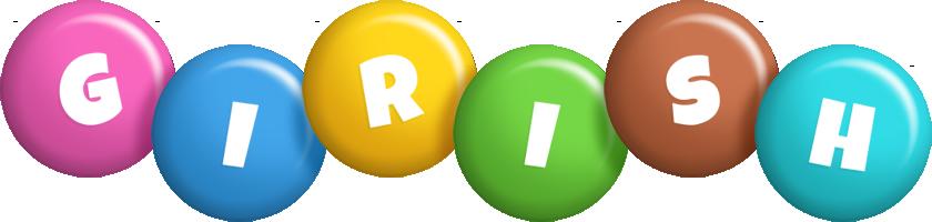 Girish candy logo
