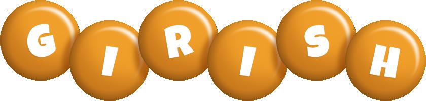 Girish candy-orange logo