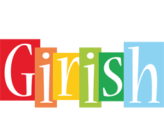 Girish colors logo