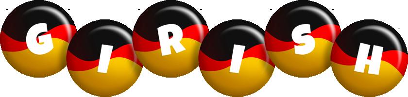 Girish german logo