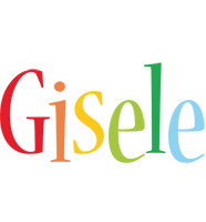 Gisele birthday logo