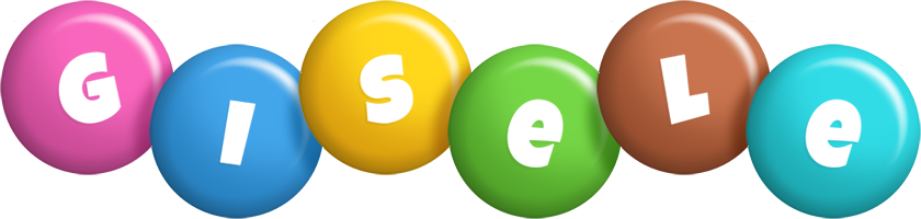 Gisele candy logo
