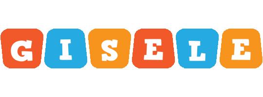 Gisele comics logo