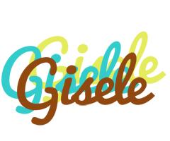 Gisele cupcake logo
