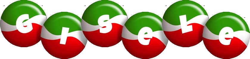 Gisele italy logo