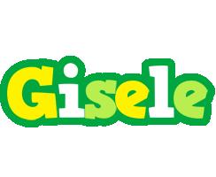 Gisele soccer logo