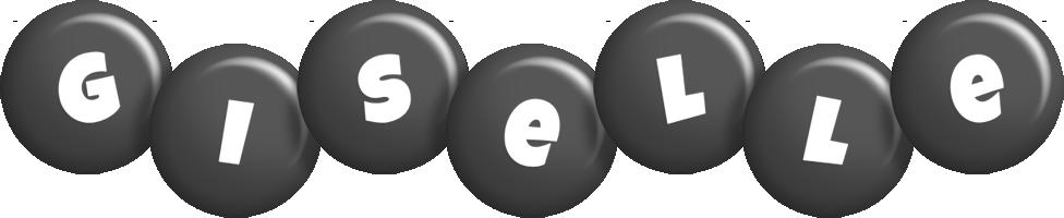 Giselle candy-black logo