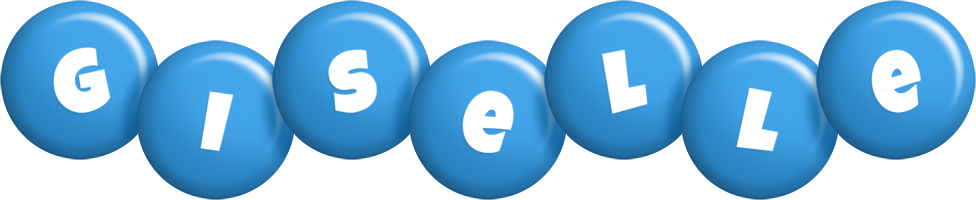 Giselle candy-blue logo