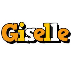 Giselle cartoon logo