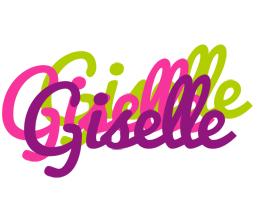 Giselle flowers logo