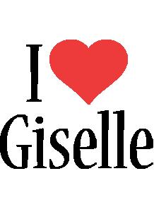 Giselle i-love logo