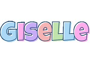 Giselle pastel logo