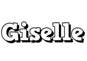 Giselle snowing logo