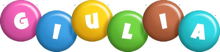Giulia candy logo