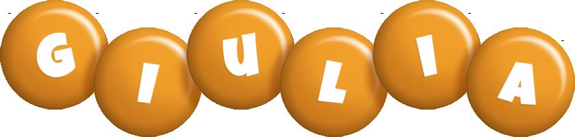 Giulia candy-orange logo