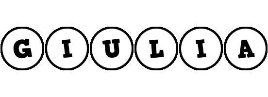 Giulia handy logo