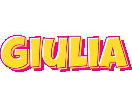 Giulia kaboom logo