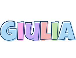Giulia pastel logo