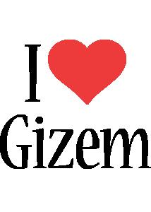 Gizem i-love logo
