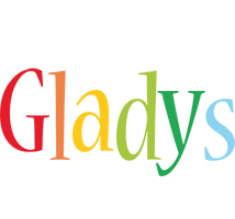 Gladys birthday logo