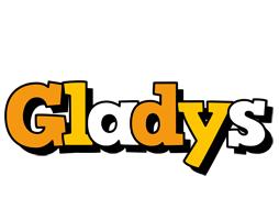 Gladys cartoon logo