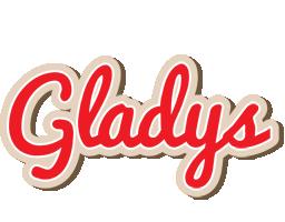 Gladys chocolate logo