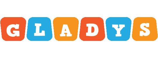 Gladys comics logo