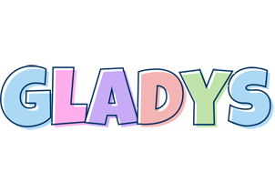 Gladys pastel logo