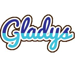 Gladys raining logo