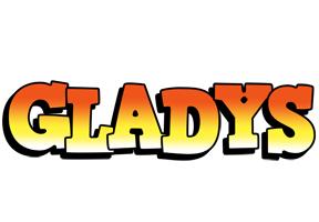 Gladys sunset logo