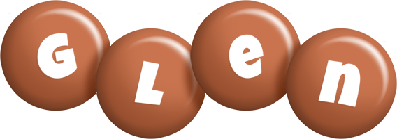 Glen candy-brown logo
