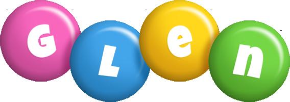 Glen candy logo