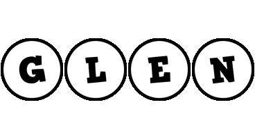 Glen handy logo
