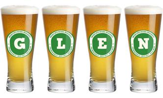 Glen lager logo