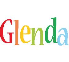 Glenda birthday logo