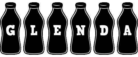 Glenda bottle logo
