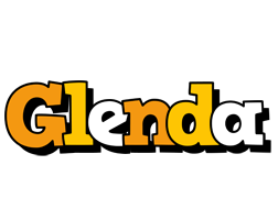 Glenda cartoon logo