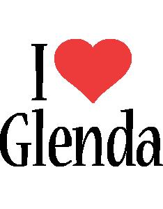 Glenda i-love logo
